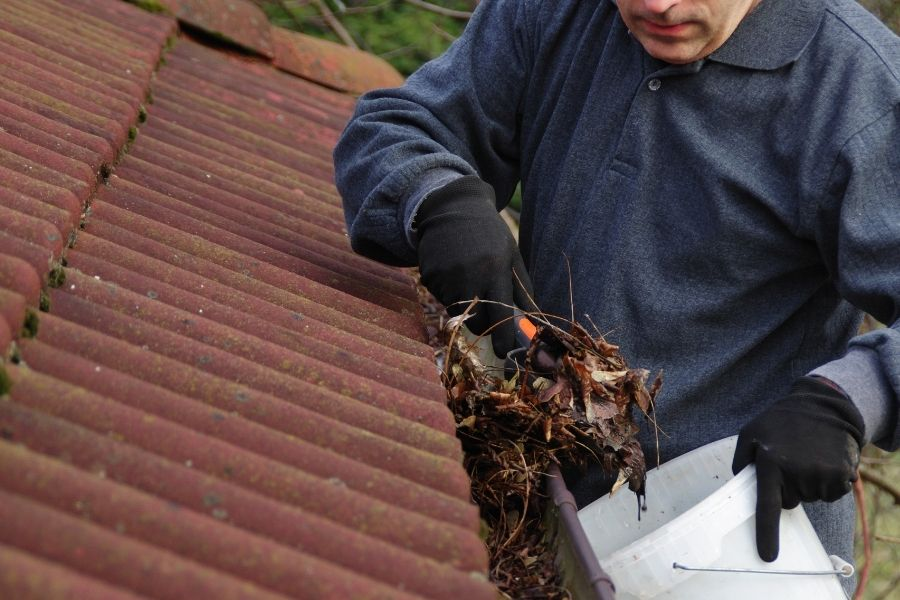 Here's How You Should Clean Your Gutters
