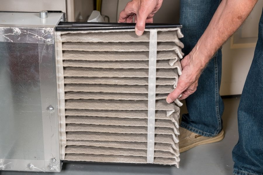 You can easily check and replace your air filter